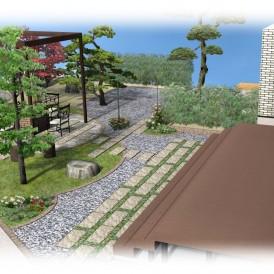佐用町ガーデンリフォーム|和庭のリフォーム