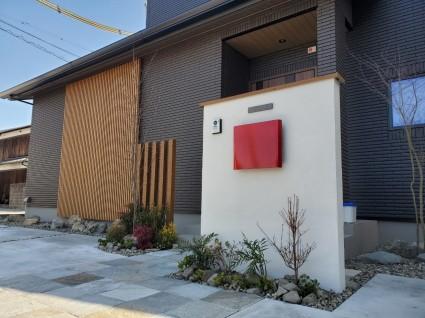 姫路市一条工務店のお家外構