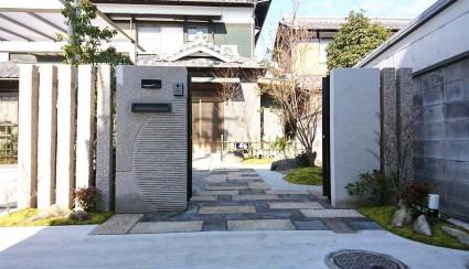 姫路市和風外構|ガーデンリフォーム工事