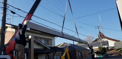 3台分のカーポート姫路