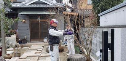 姫路庭工事