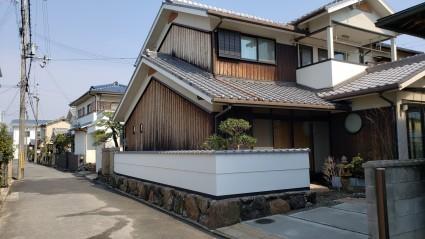 姫路市和風お庭リフォーム工事