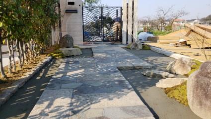 姫路市の庭づくり