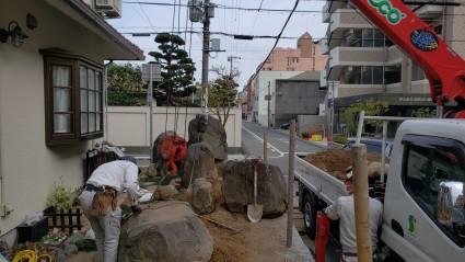 姫路市のお庭のリフォーム
