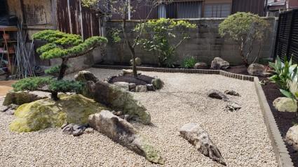 姫路市和庭リフォーム雑草が生えないお庭づくり