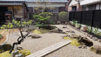 姫路市お庭のリフォーム工事