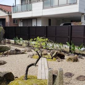 姫路市和風のお庭リフォーム工事