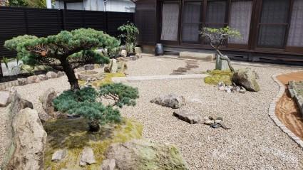 姫路和庭リフォーム|庭木庭石再利用したガーデンリフォーム