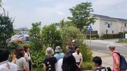 姫路市分譲地の剪定講習会
