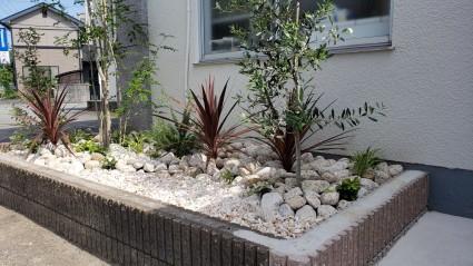 姫路市の庭のリフォーム