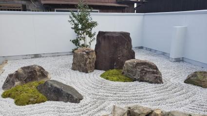 和風のお庭