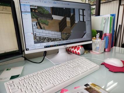 和庭のデザイン