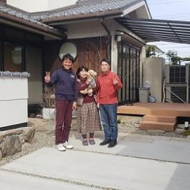 姫路市和庭リフォーム工事|愛犬に優しいお庭リフォーム