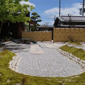 姫路市和庭|京風の日本庭園にガーデンリフォーム