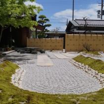 姫路市和庭 京風の日本庭園にガーデンリフォーム