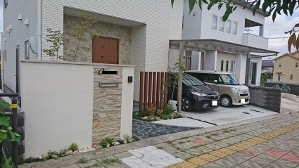 姫路市新築外構完成写真
