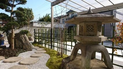 姫路市和モダン庭園にリガーデン