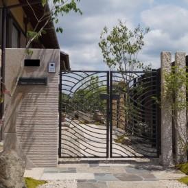 姫路市和庭外構リフォーム工事