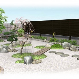姫路市和庭リフォーム工事パース
