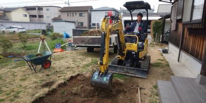 姫路市外構|和風住宅のお庭外構工事