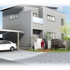 相生市新築外構|ガーデンエクステリアデザイン