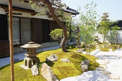 姫路和庭リフォーム 和庭を維持管理しやすい庭