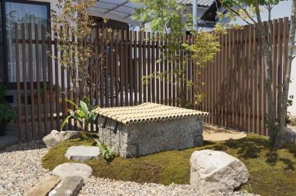 姫路市和庭|井戸の庭リフォーム