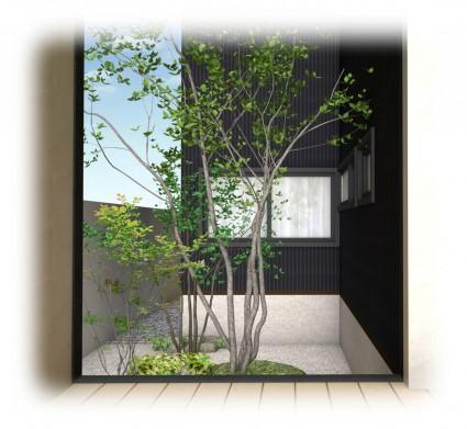 姫路モダン坪庭