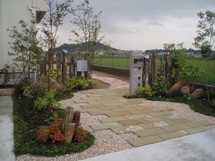 姫路市サンガーデンのお庭