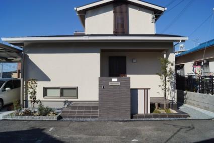 住林のお家の外構デザイン