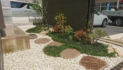 姫路市坪庭工事|管理しやすい小さな坪庭
